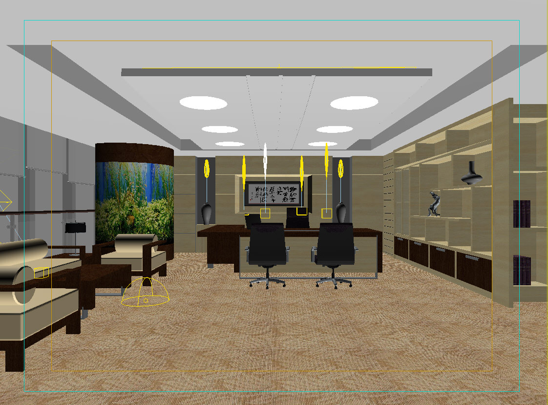 Office Interior 3d Model Collection By Fine3d 3d Model Max