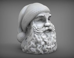 santa claus 3d printable model