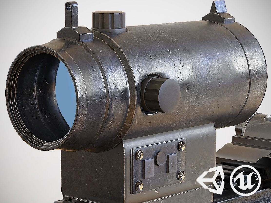 Red Dot - CQB Sight - Scope - Optic - Weapon Attachment - PBR