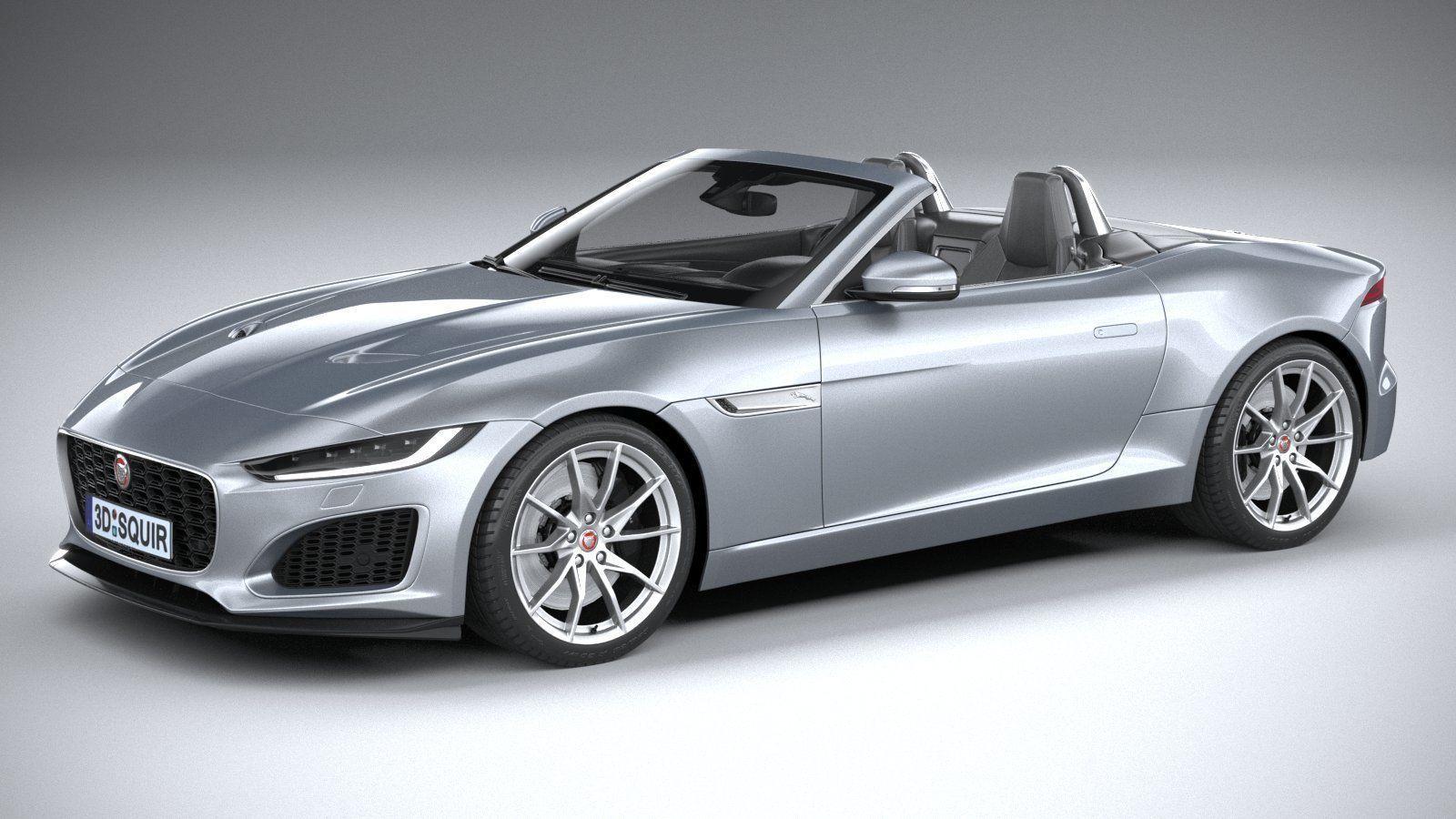3D Jaguar F-Type Regular Convertible 2021   CGTrader