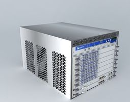 Juniper MX480 Edge Router 3D model