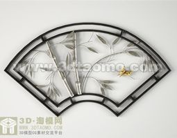 household Wall decoration 3D model