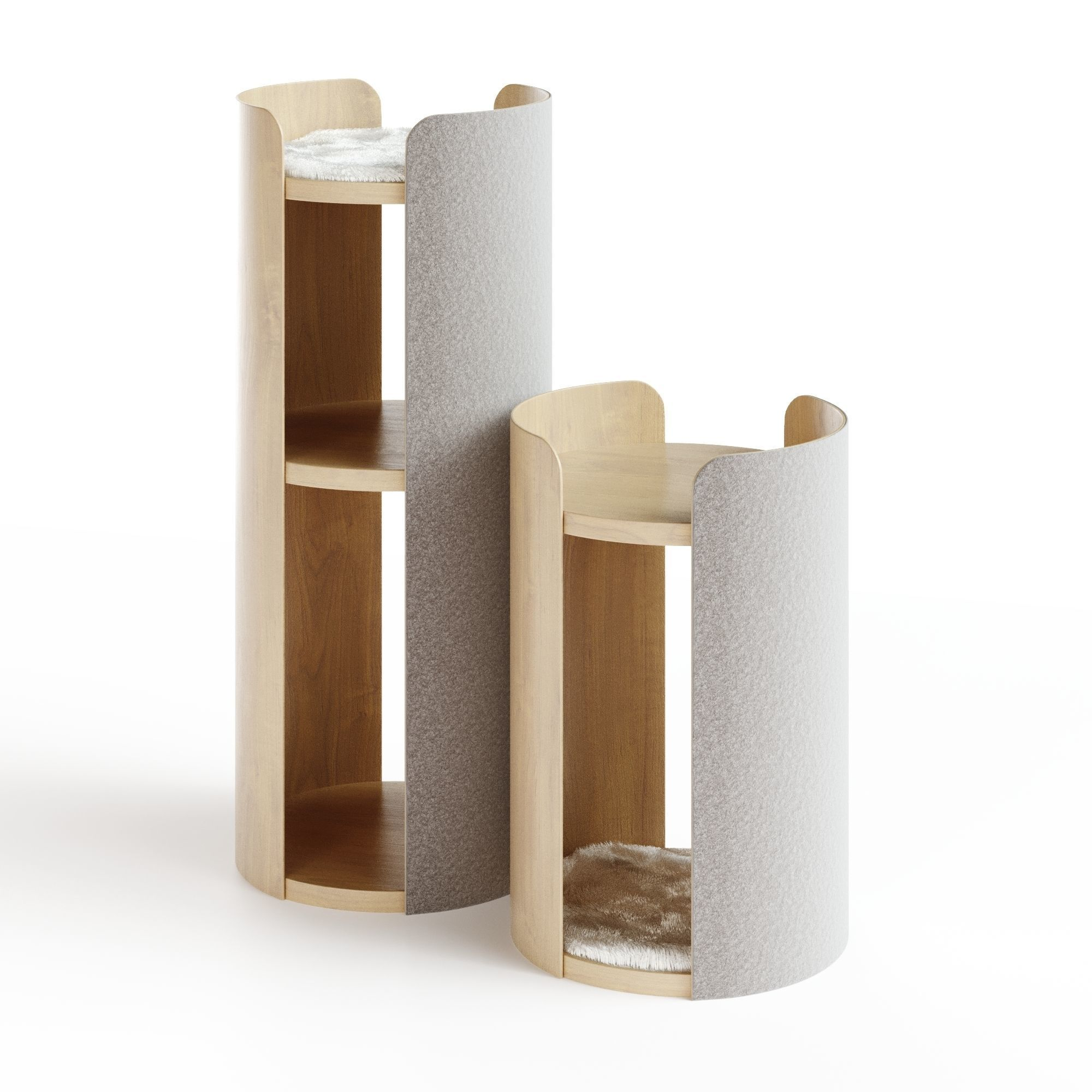 MODERN LARGE CAT SCRATCHING TOWER TORRE