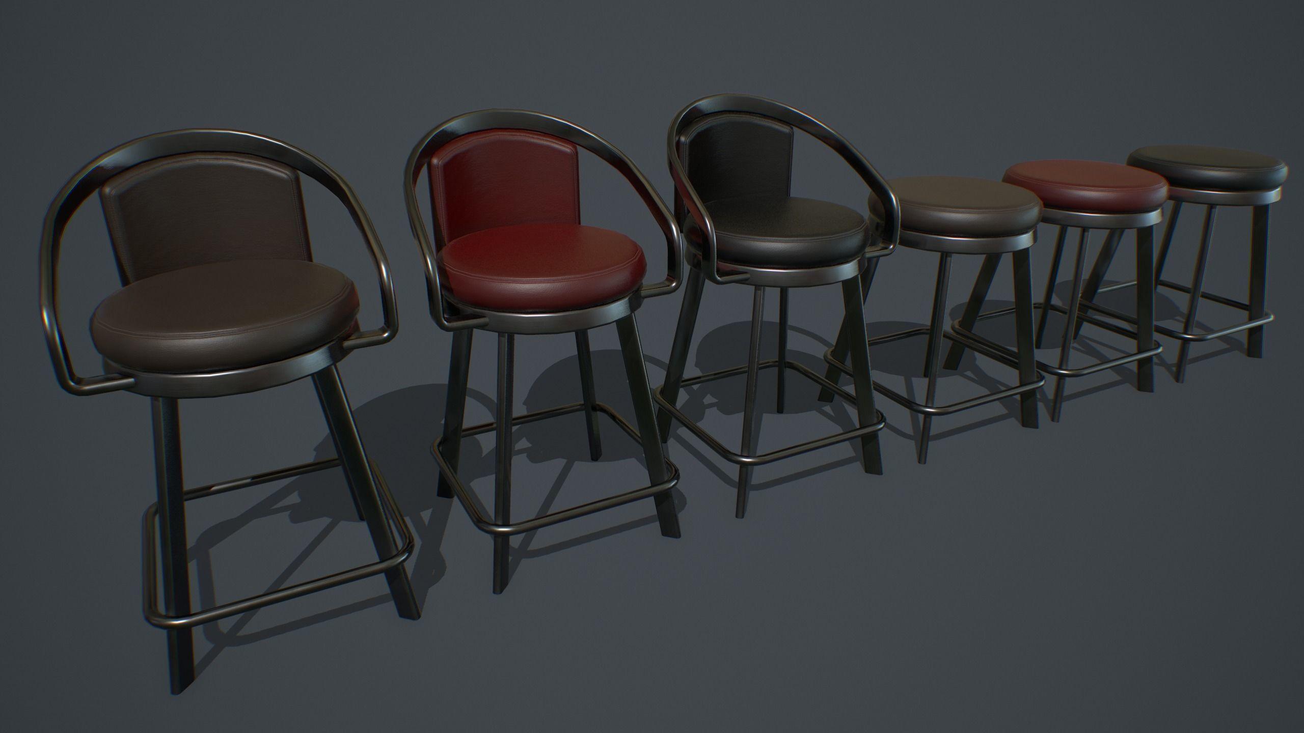 Slot Machine Chair PBR
