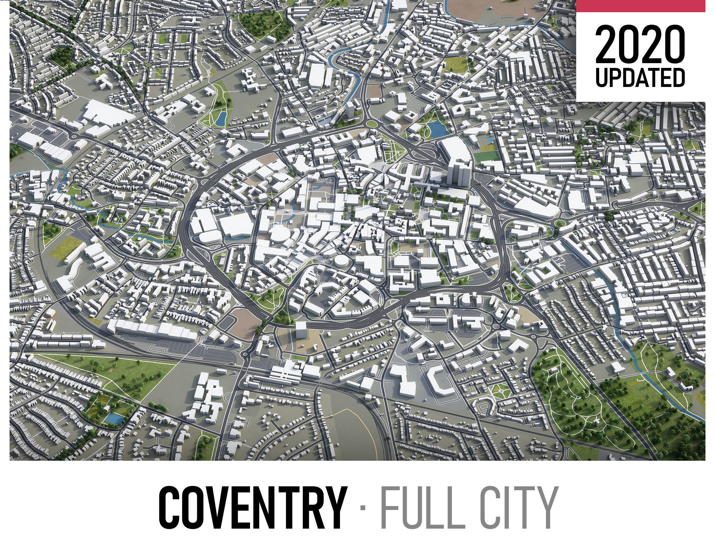 Coventry - city and surroundings