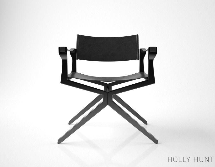 Holly Hunt Haka Director Chair