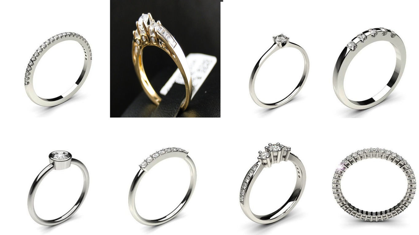 8 Latest Solitaire Woman Diamond Ring