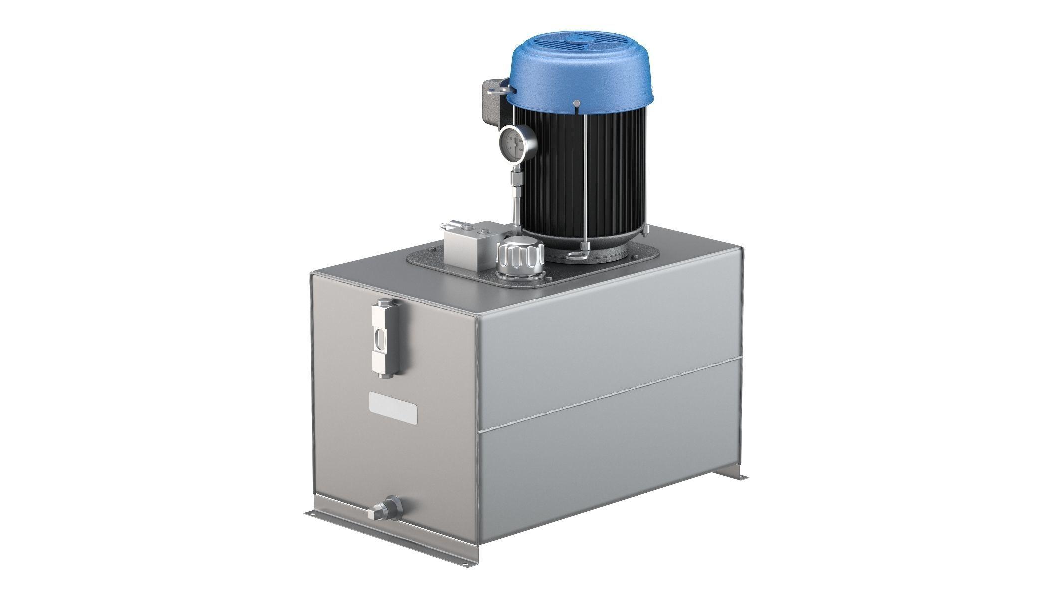 Haldex AC Hydraulic Power System Self-Contained