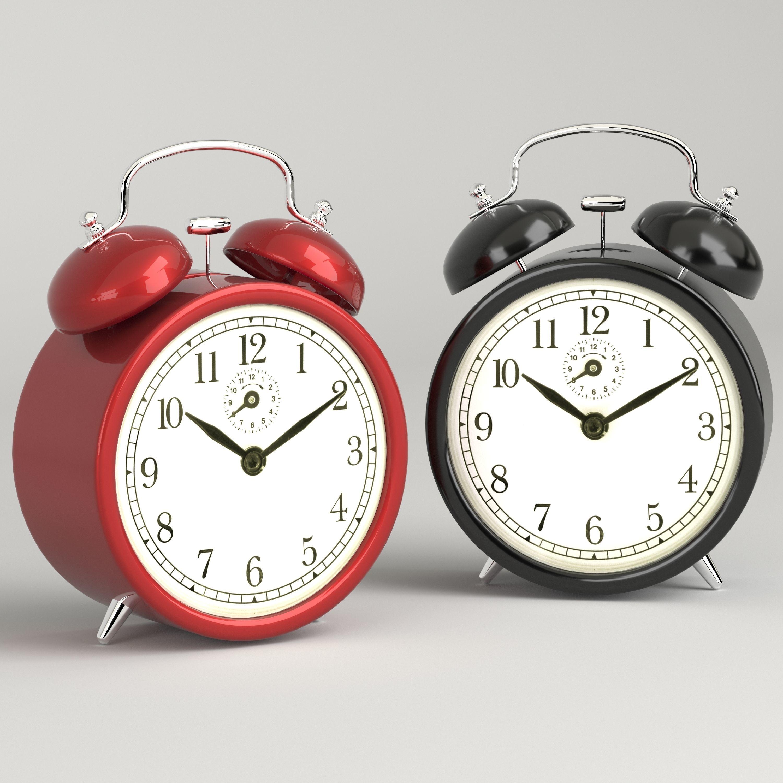 DEKAD Alarm clock 3D model MAX OBJ FBX DWG