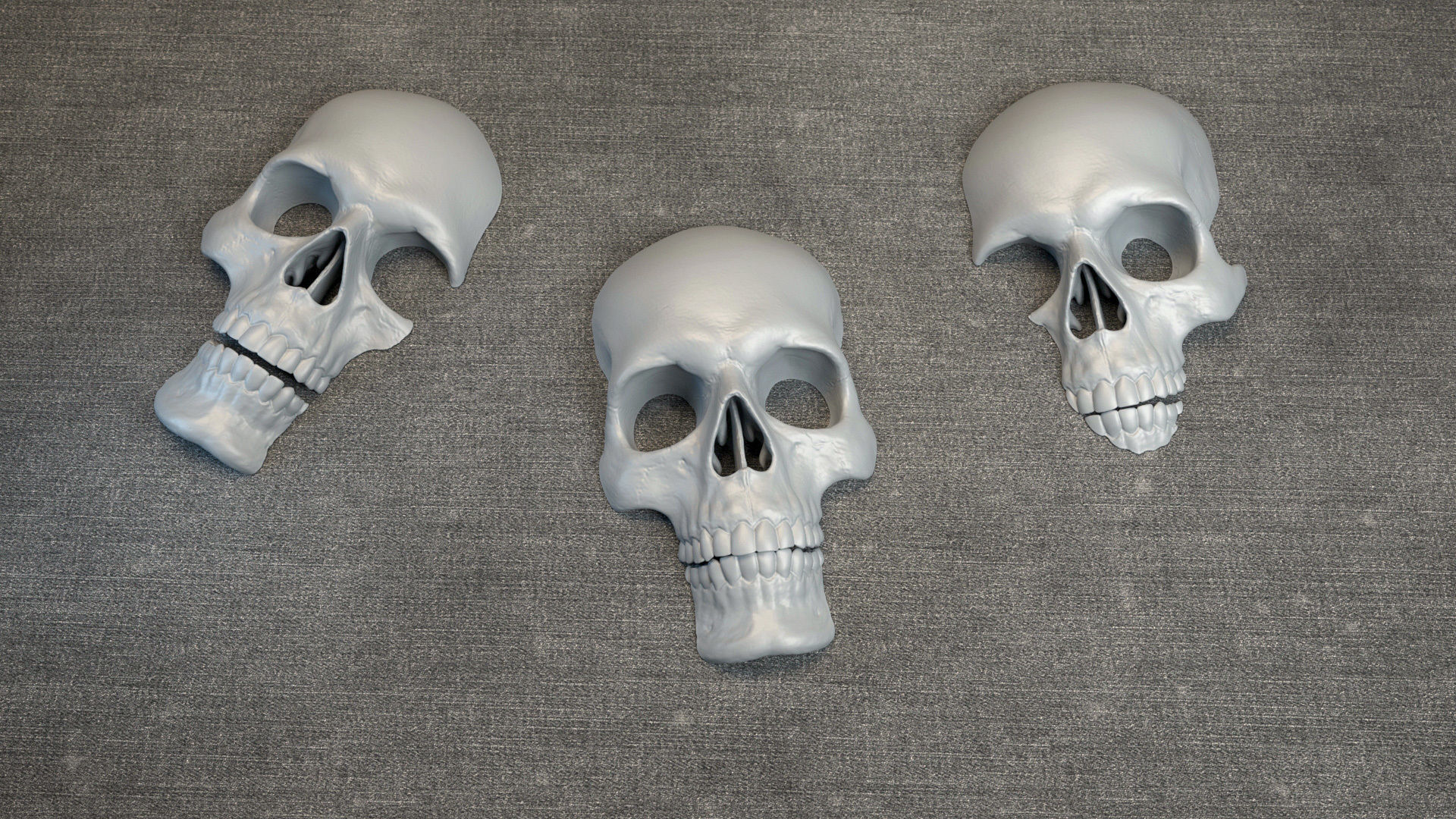 Skulls - Wall Decoration