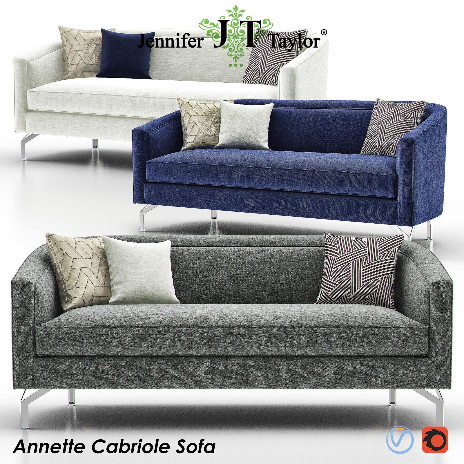 ANNETTE CABRIOLE Sofa