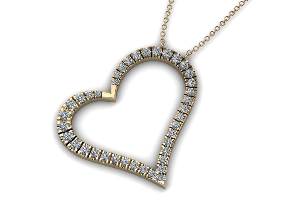 Heart Jewelry Pendant 03