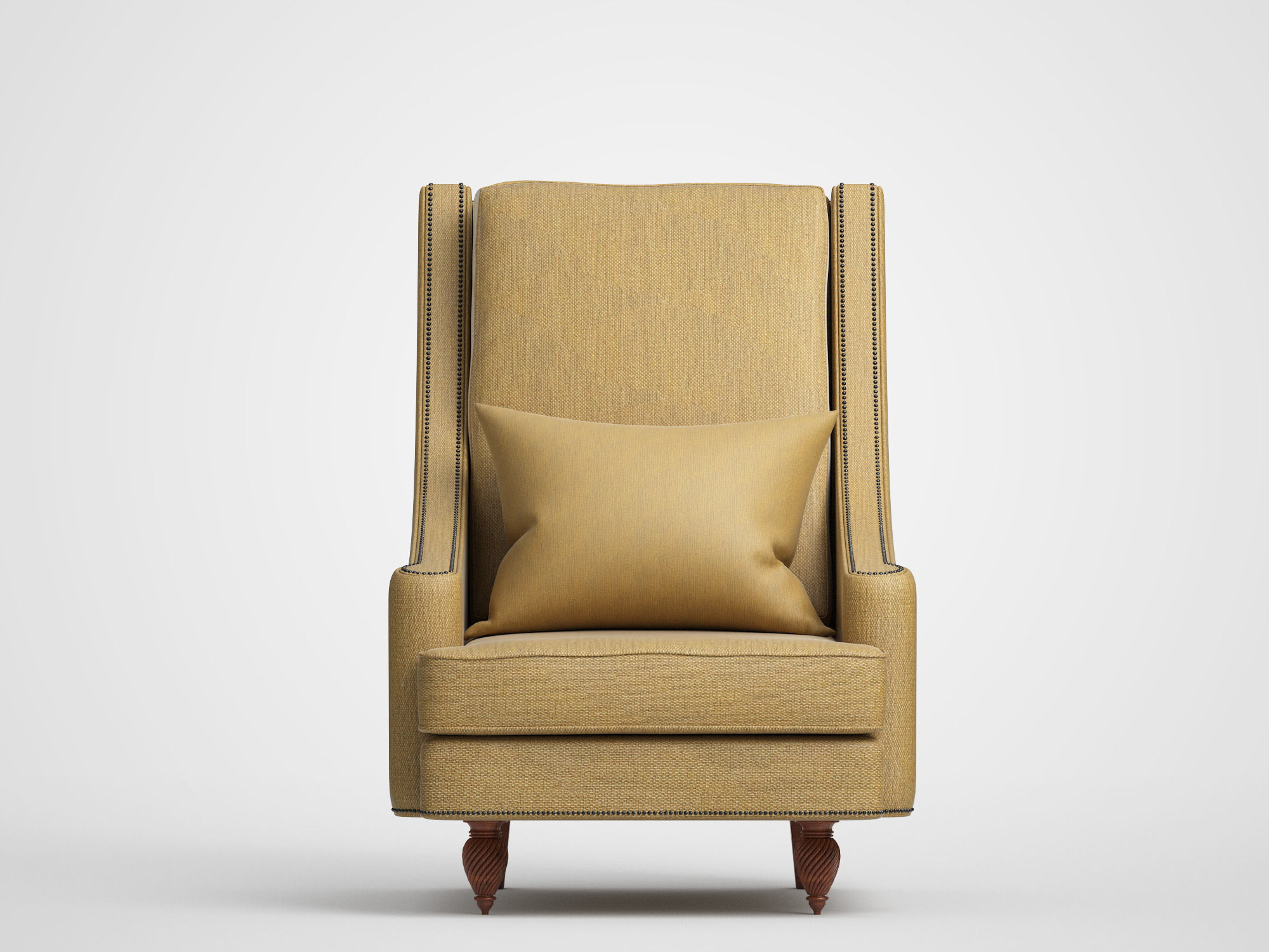 couch Classic Chair 3D model