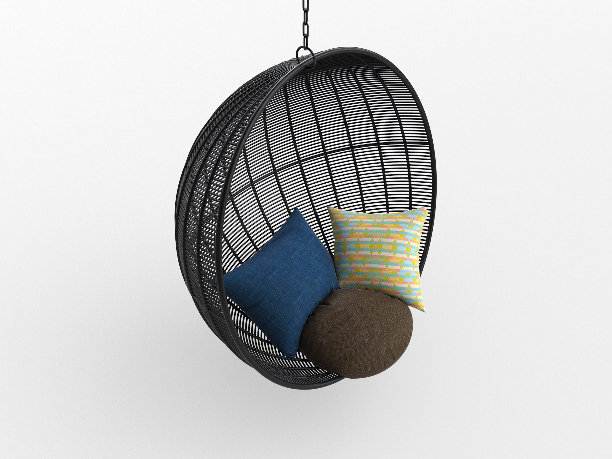3D model robe Hanging Chair