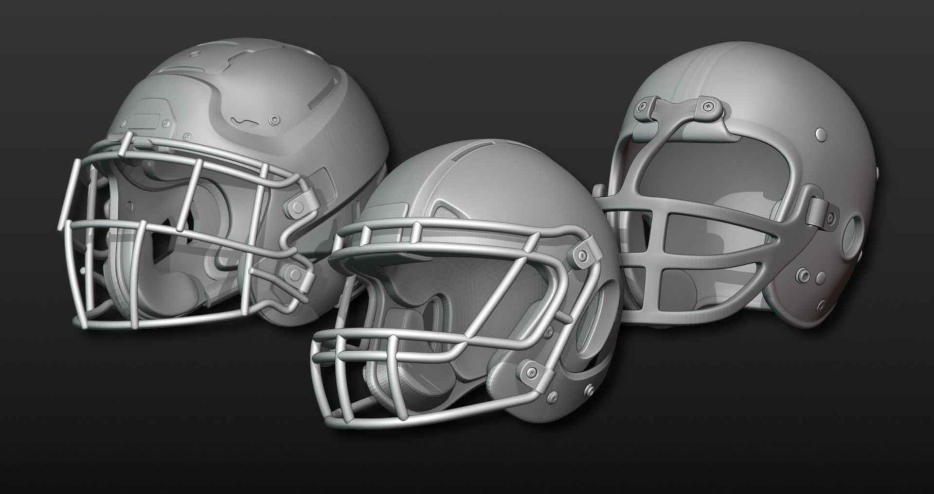 Printable Football Helmets