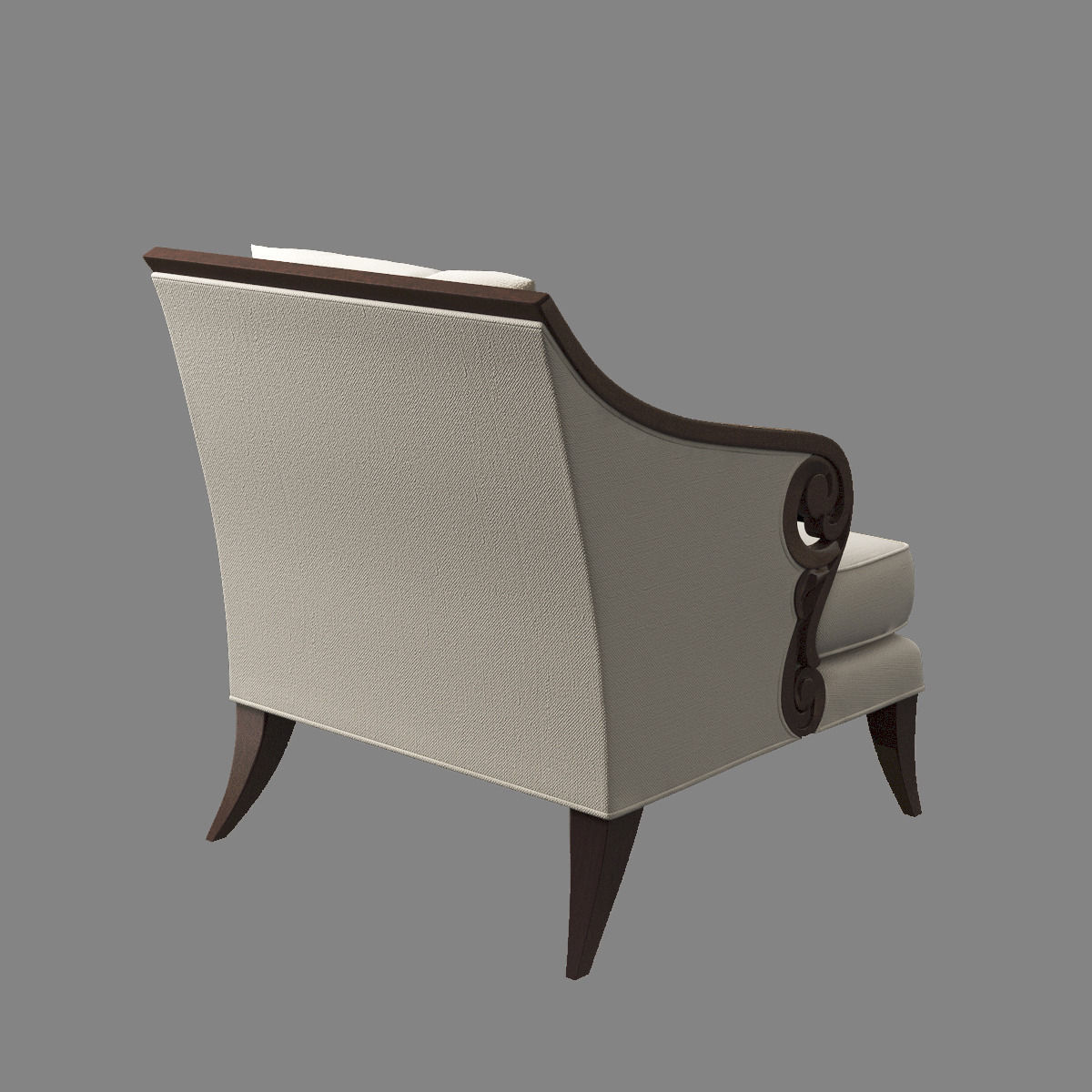 Christopher Guy Jude Chair 3d Model Max Cgtrader Com