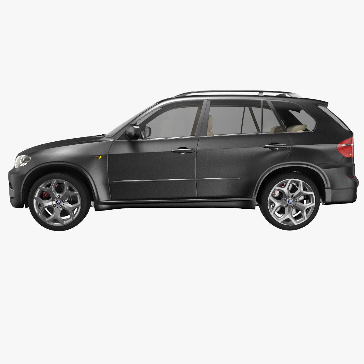 Bmw X5: BMW X5 3D Model MAX