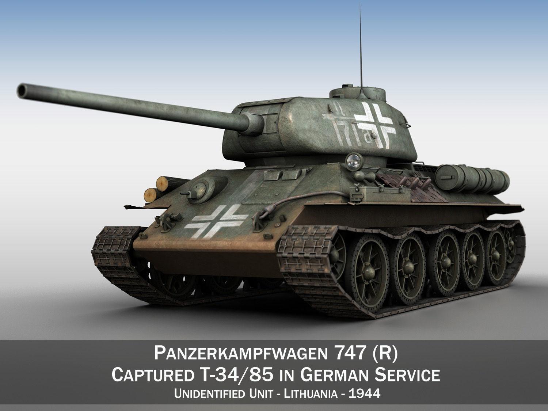 Panzerkampfwagen 747 R - T-34 85