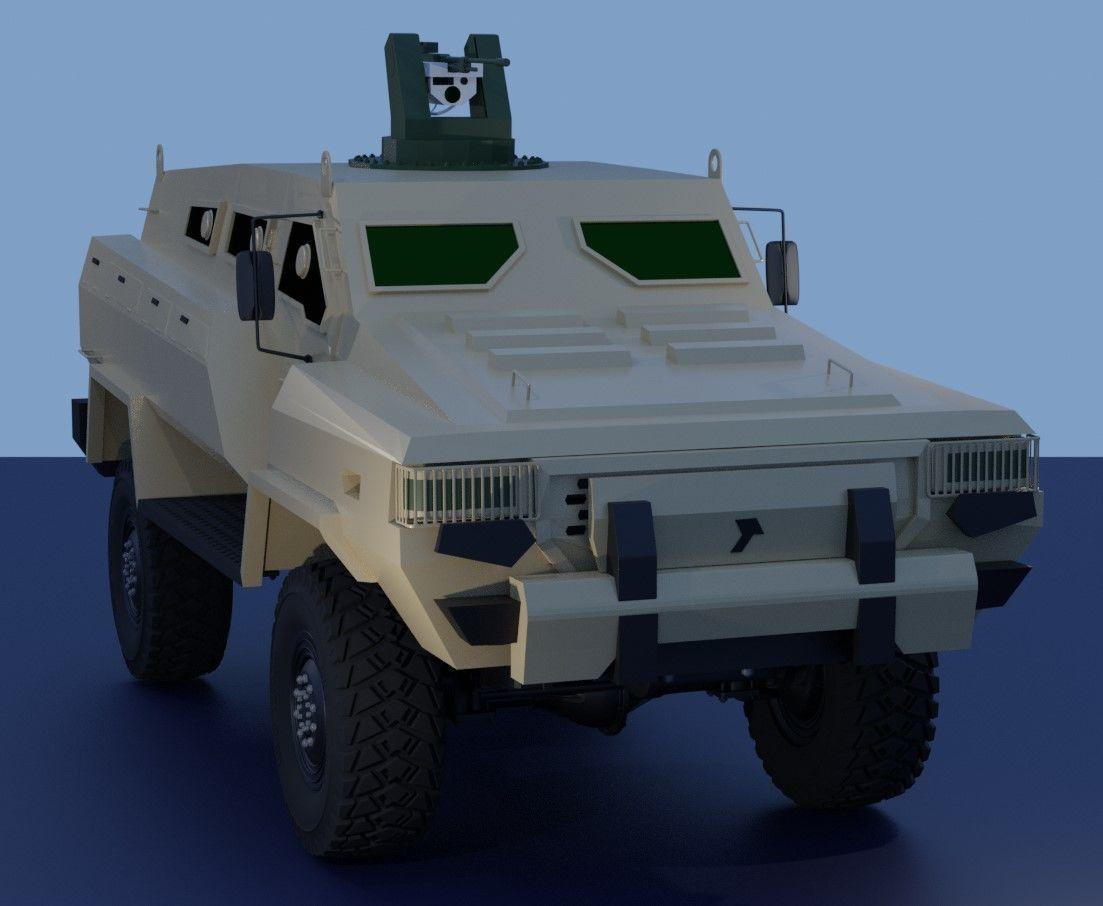 Tufan 4x4 MRAP Azerbaijan defense