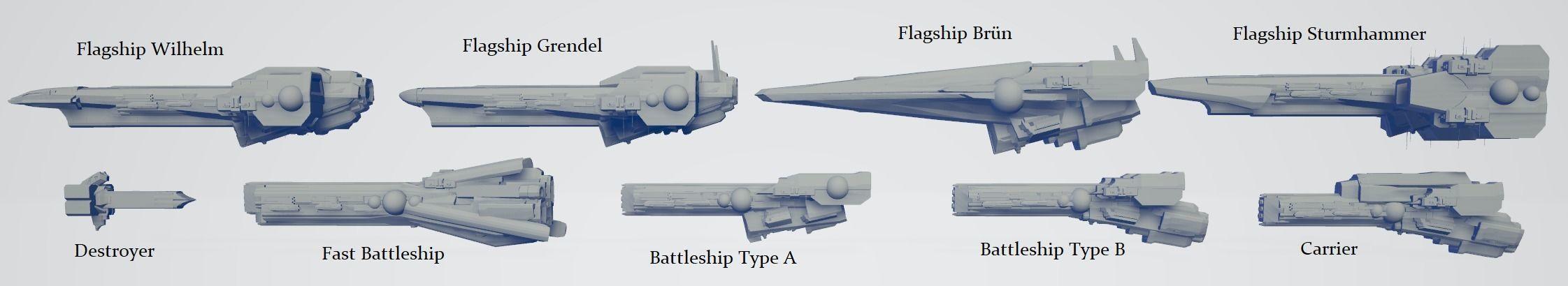 Imperial Fleet Pack 1