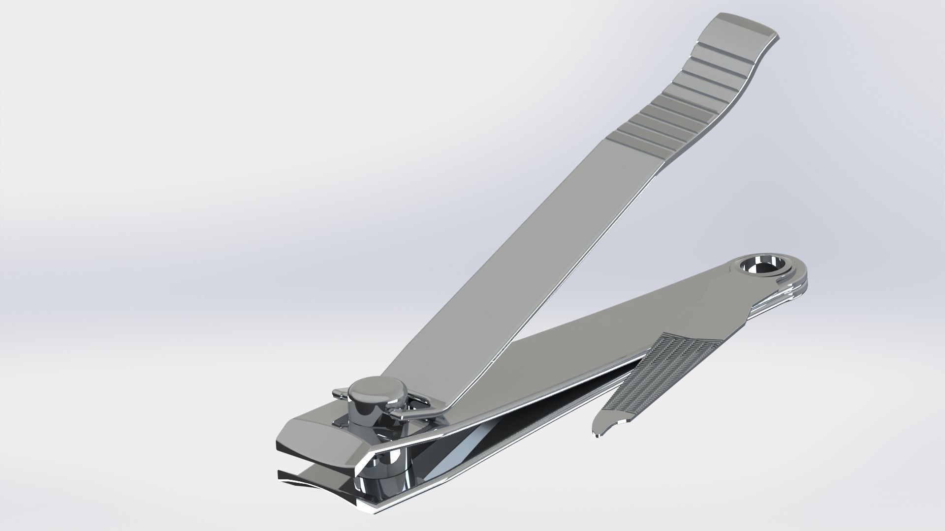 Nails Clipper - SolidWorks