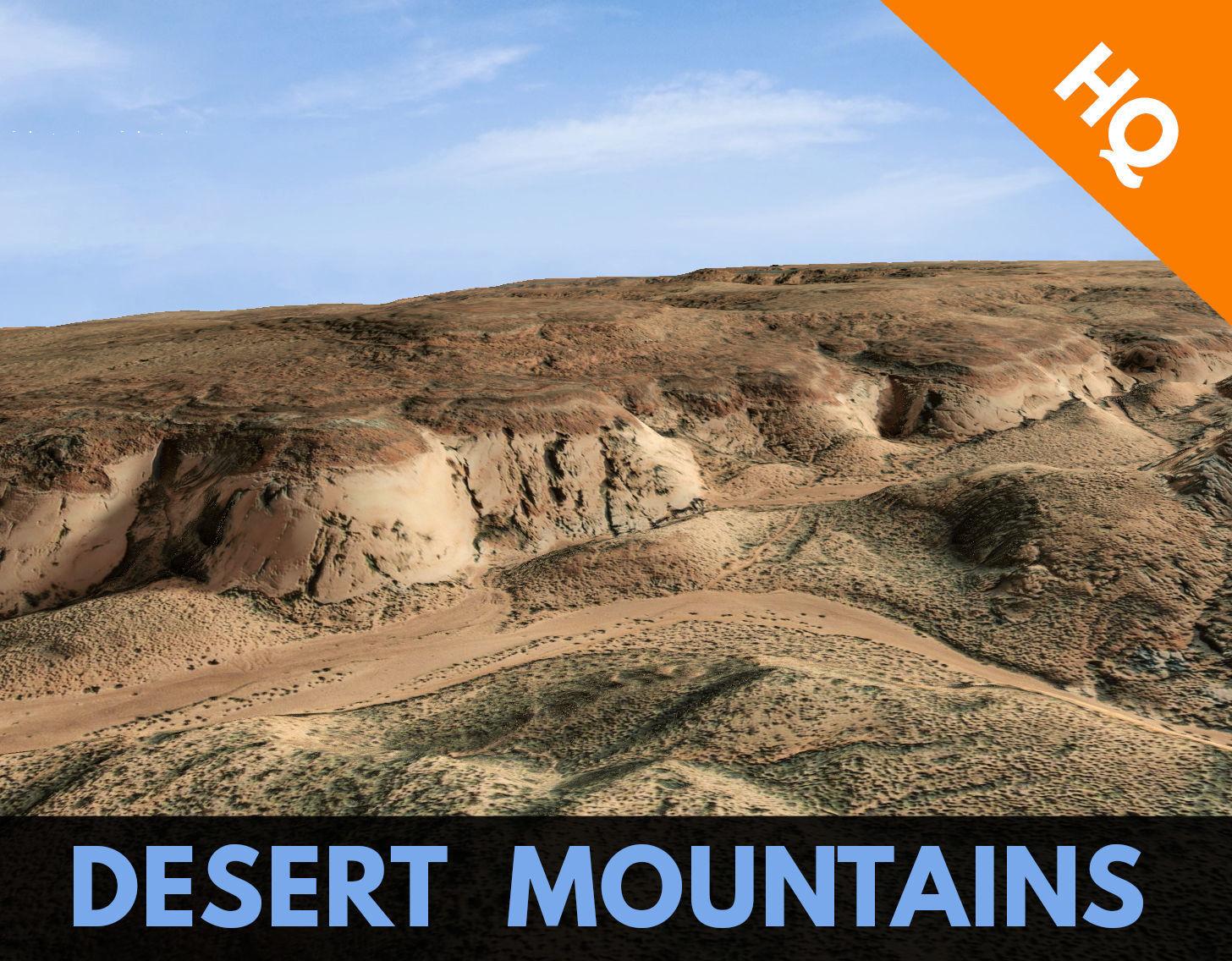 Desert Terrain Surface Landscape Environment PBR 19