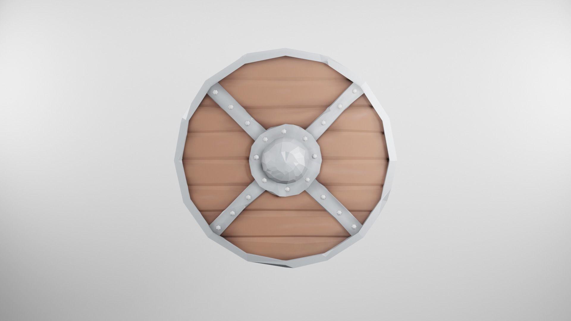 Viking Shield Stylized