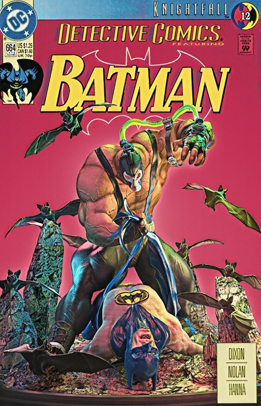 Bane VS Batman Knightfall Tribute