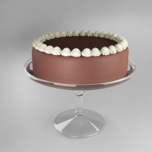 cake 3d model max obj fbx mtl 1