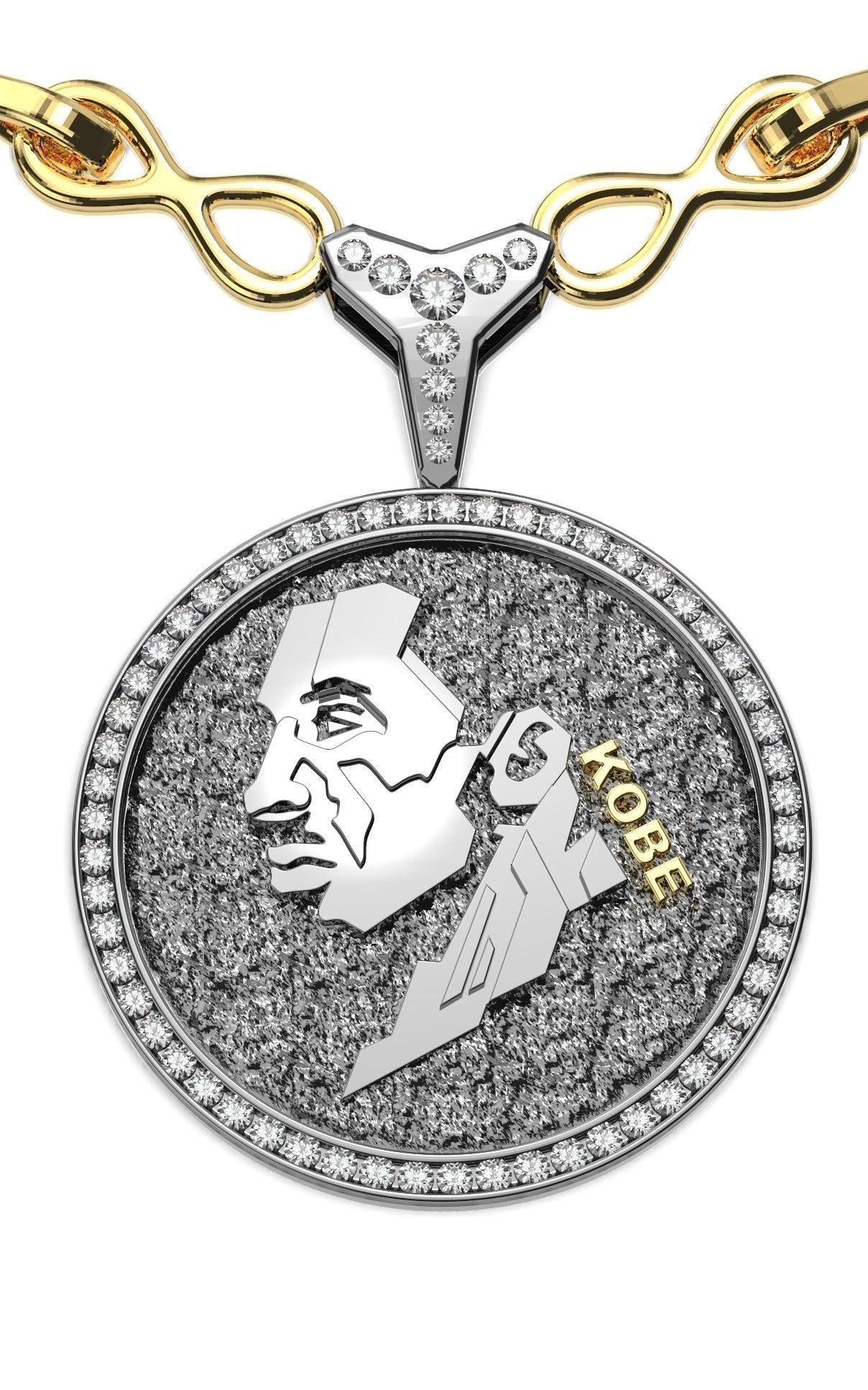 Kobe Medallion Pendant