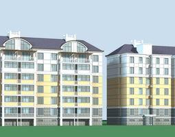 City Residential Garden villa office building design  239 3D Model
