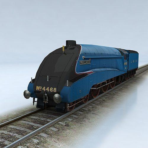3D asset LNER Class A4 Mallard   CGTrader Mallard Train Toy