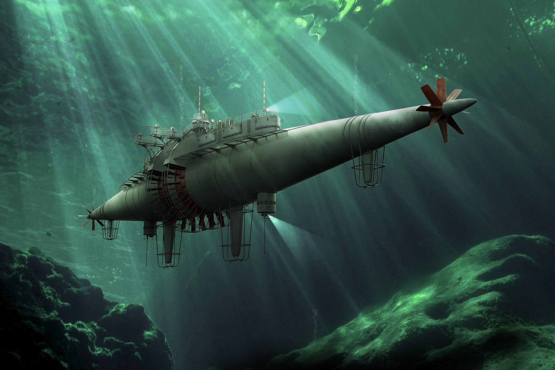 Winnans Cigar Steamer Submarine