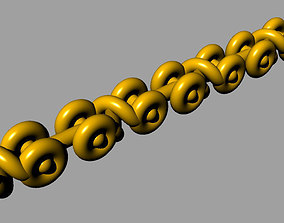 3D printable model Snaky twist