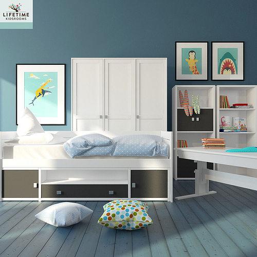kid bedroom 3d model max 1