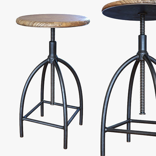 vintage and industrial stool - Sire