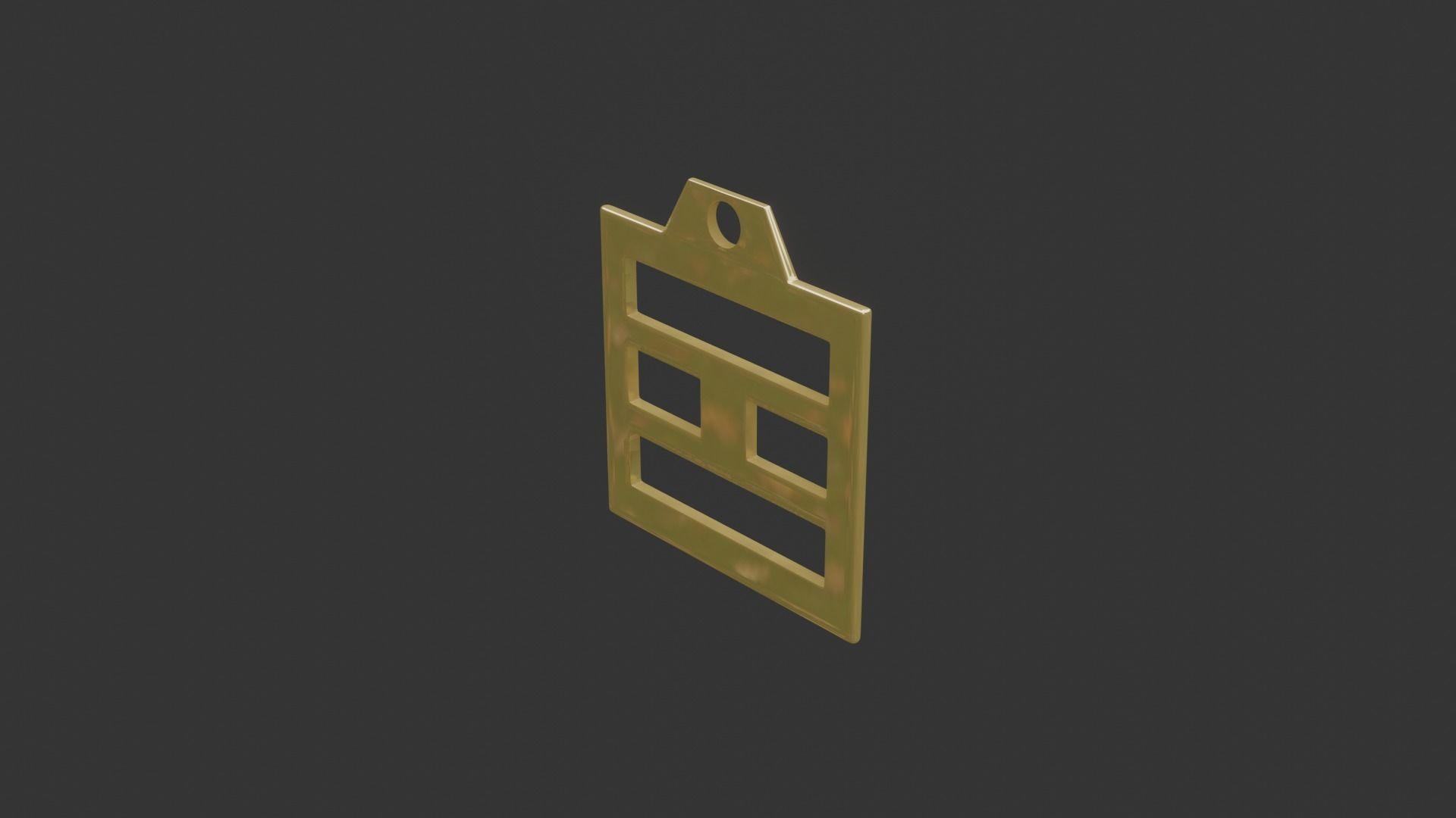 rgd li trigram pendant mk3