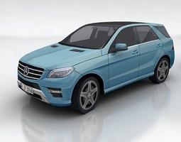 Mercedes ML 3D asset