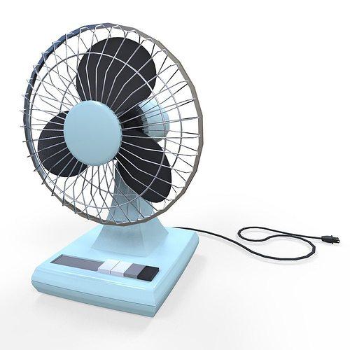 Electric Fan 3D Asset