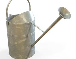 game-ready 3d asset watering can