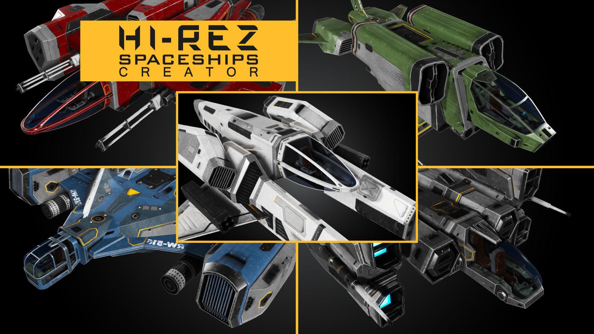 Hi-Rez Spaceships Creator