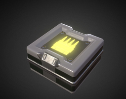 Game-Ready Ammo-box 3D model