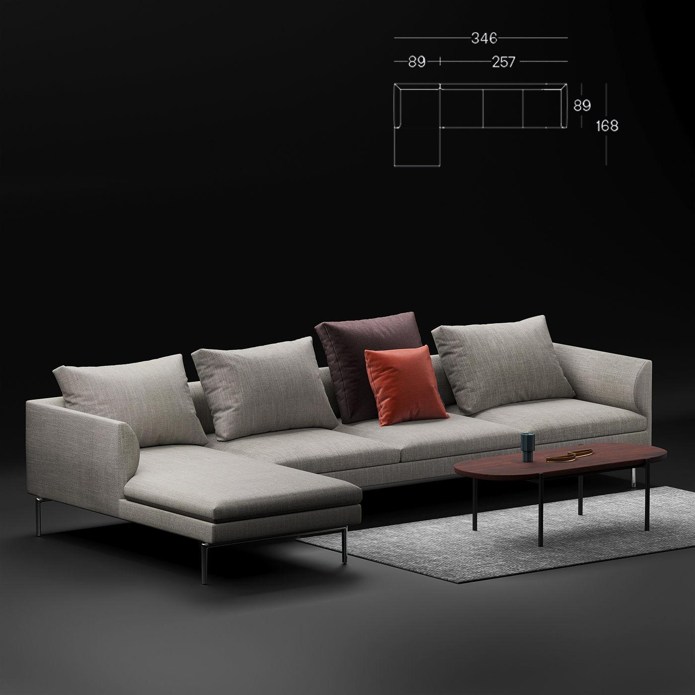 Zanotta Flamingo sofa corner