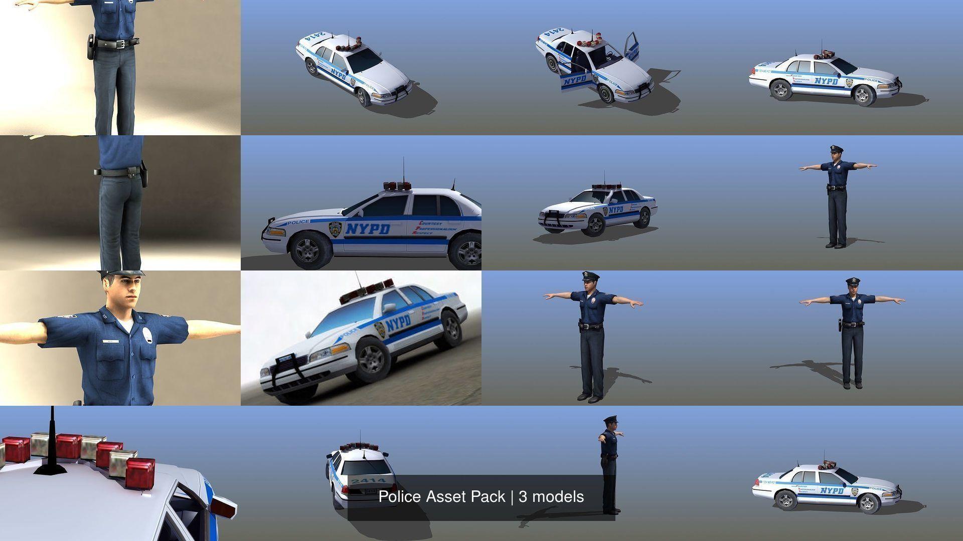 Police Asset Pack