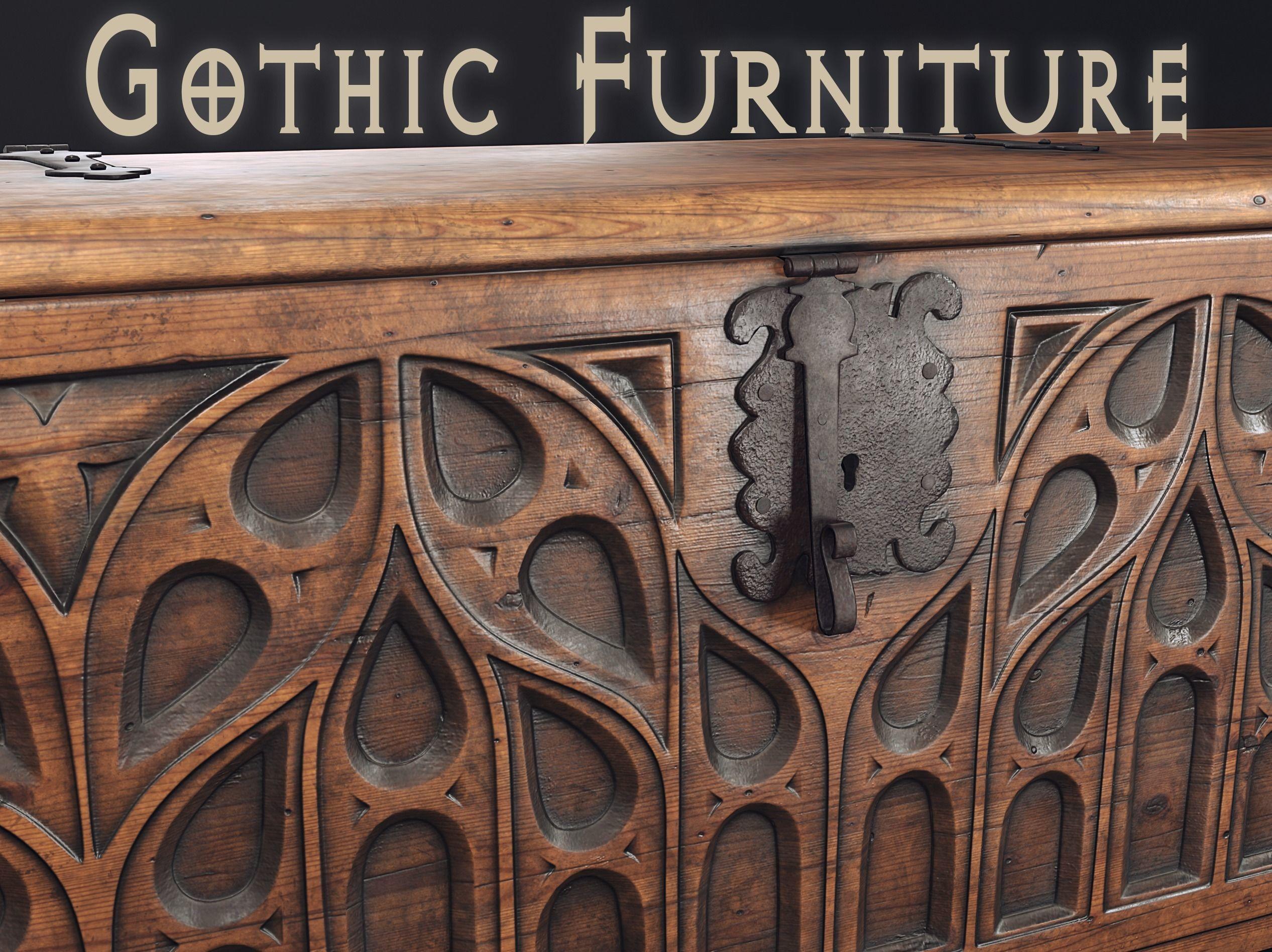 Gothic Furniture 2