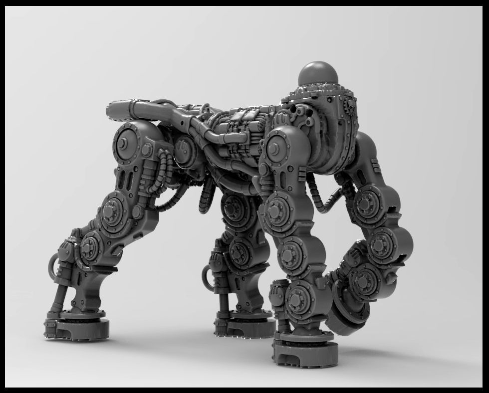 Centaur Knight Conversion Kit - Chassis only