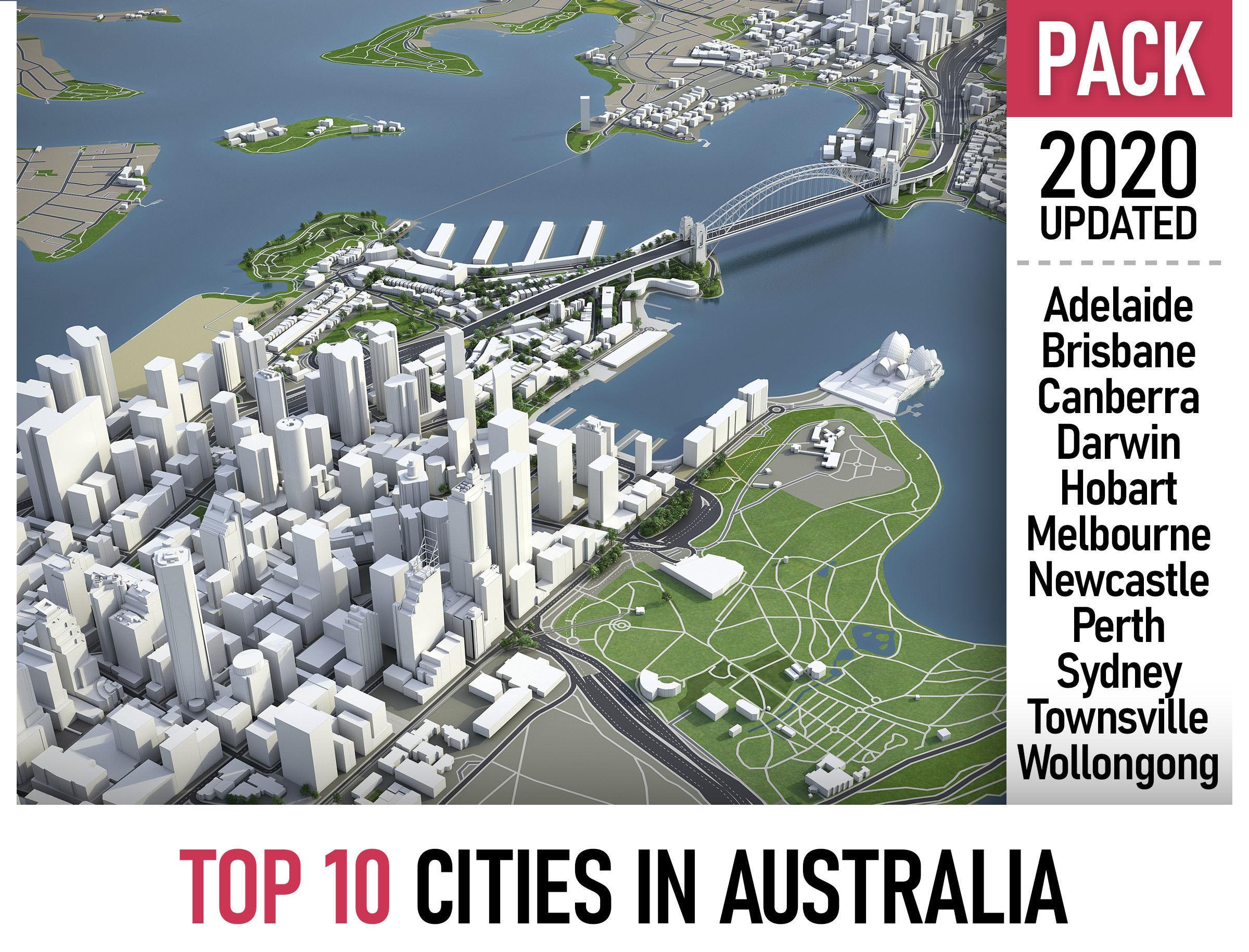Top 10 Cities in Australia