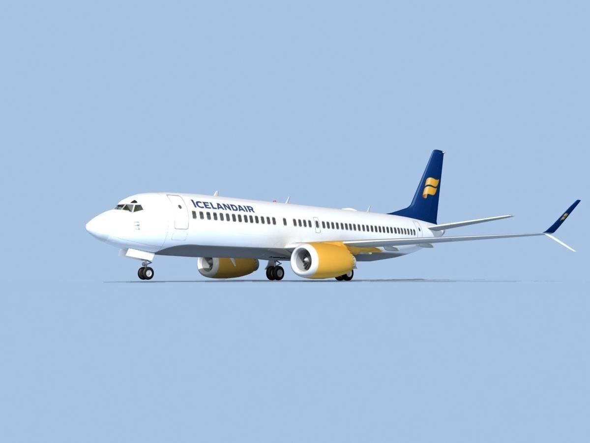 Boeing 737-800 Max Icelandair