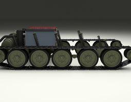 3D model T34 Tank Drivetrain