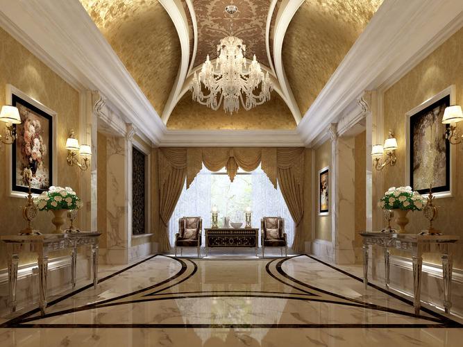 Luxury Ideas For Lavish Living Room Style: Hall Corridor 22704 3D Model